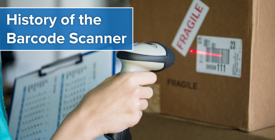 who invented the bar code scanner