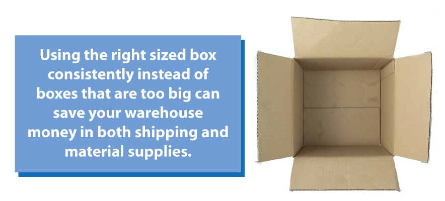 shipping box sizes